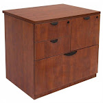 Regency Legacy Lateral Combo File in Cherry - LPCL3124CH