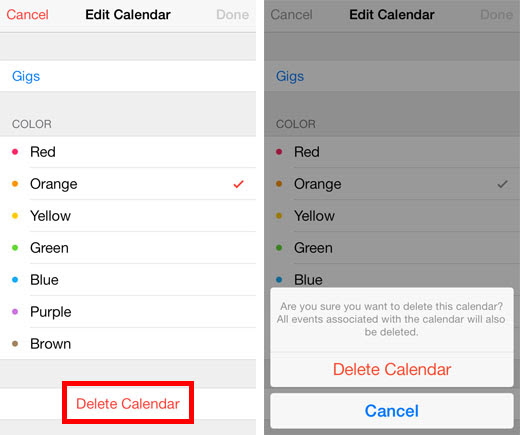 Add and Delete Calendars on the iPhone with iOS 7   The ...