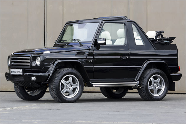 VWVortex.com - Mercedes-Benz G500 Cabriolet by Kicherer
