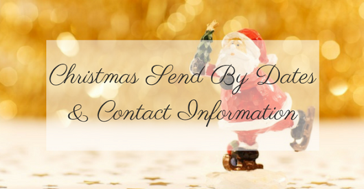 NI Parcels Christmas 2016 – Send By Dates And Contact Information | Blog – NI Parcels