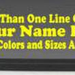 Car Decals Stickers Lettering Graphics Truck Wrap Stripes