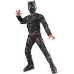 Captain America Civil War Deluxe Black Panther Costume Medium