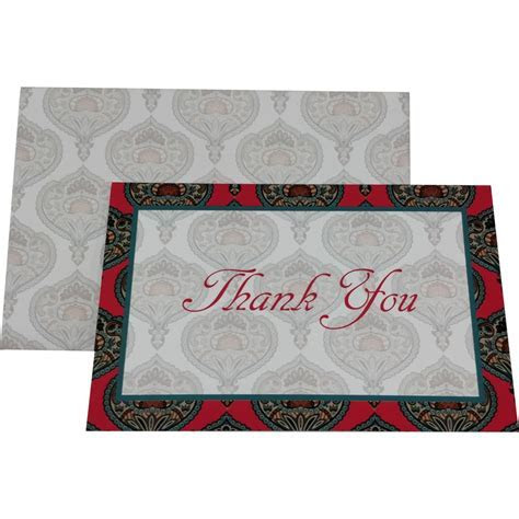 Thank You Card ? Wedding Card   Get Latest Price From