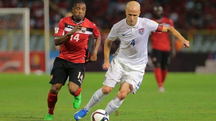 Michael Bradley US vs Trinidad and Tobago