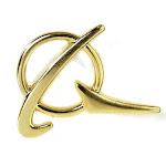 Boeing Symbol Gold Lapel Pin