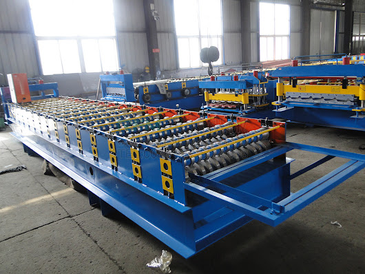 Color Steel Roof Sheet Machine