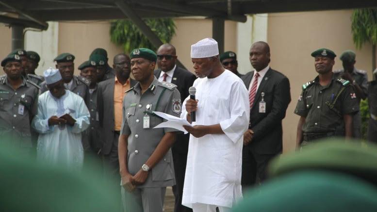 Comptroller-General of the Nigeria Customs Service (NCS), Retired Col. Hameed Ali.