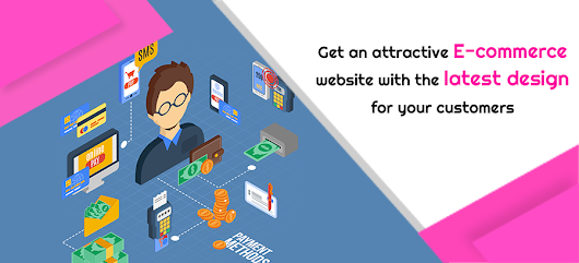 Get an attractive e-commerce website with the latest design