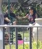 Kourtney Kardashian Takes Her Kids Out To Ride Their Scooters