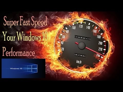 How to Super Fast Speed Your Windows 10 Performance Without Using Any Th...