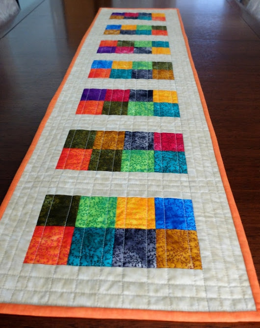 Fun with a colourful jelly roll
