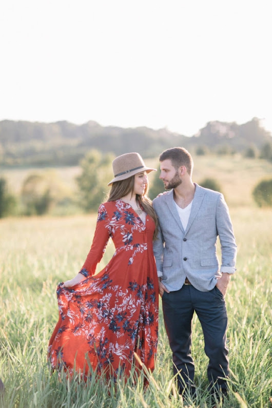 Styled Engagement Shoot | Paperlily Photography + Beauty Asylum Hair & Makeup