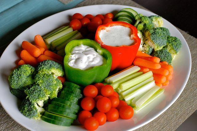 veggie tray.