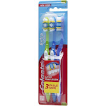 Colgate Extra Clean Toothbrushes, Medium, Value Pack - 3 toothbrushes