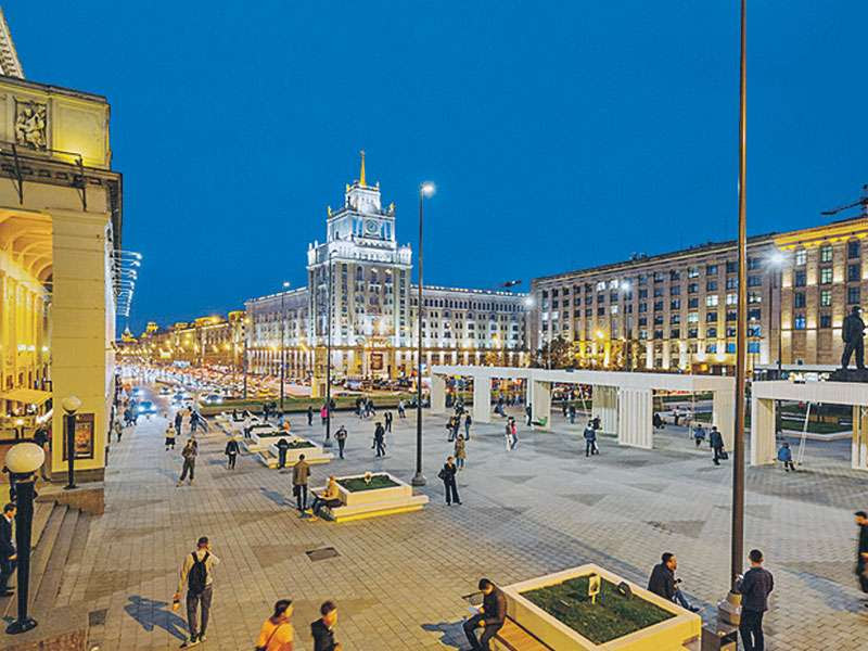 Москва быстро становится одним из лучших городов Мира