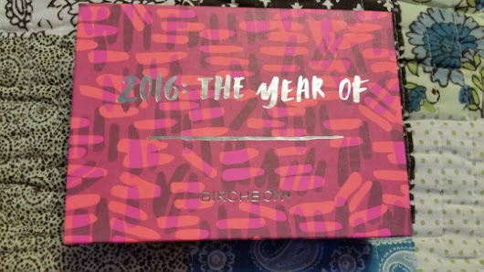 Birchbox - January 2016 - unboxed