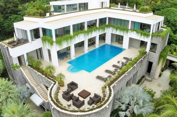 Design De Maison Minimaliste: Maison Moderne De Luxe A Vendre