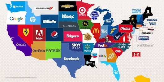 Here Are The Most-Googled Brands In Each State