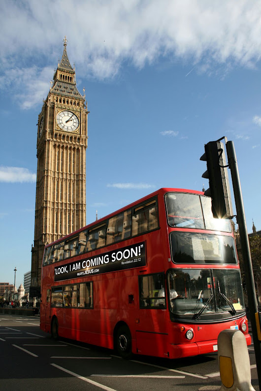 Words of Jesus to be emblazoned on London buses this Easter in new evangelical campaign