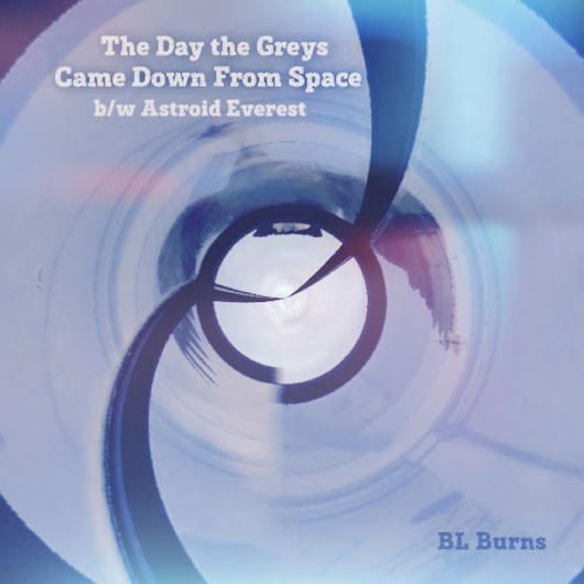 The Day the Greys Came Down from Space b/w Astroid Everest, by bl burns