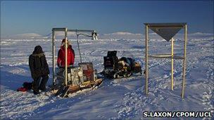 Validation of ice data