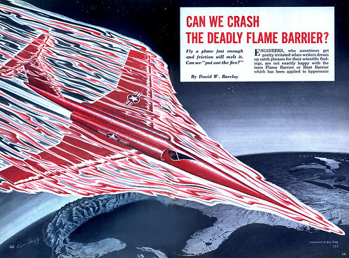 1955 .... Flame Barrier! by x-ray delta one