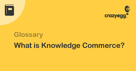 What Is Knowledge Commerce?