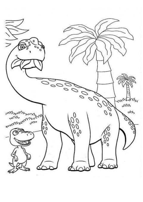 Beautiful Printable Dinosaur Pictures