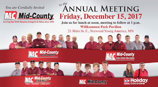Annual Meeting – Mid-County Coop