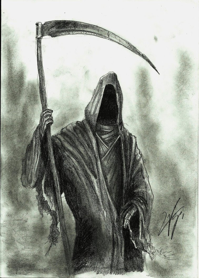 Grim Reaper Drawing Amazing Drawing Skill