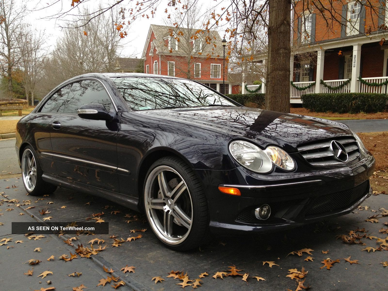 2008 Mercedes Benz Clk 350 Coupe Amg Sport Package W. 19 ...