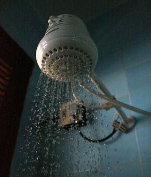 conserto do chuveiro