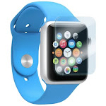 zNitro - Nitro Shield Screen Protector for Apple Watch 38mm 2-Pack - Clear