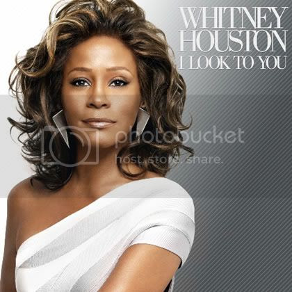 Whitney Houston's 'I look to you' album cover