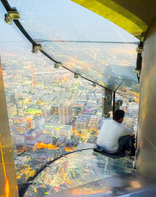 70 Floors up at OUE Skyspace , Los Angeles - EazyNazy