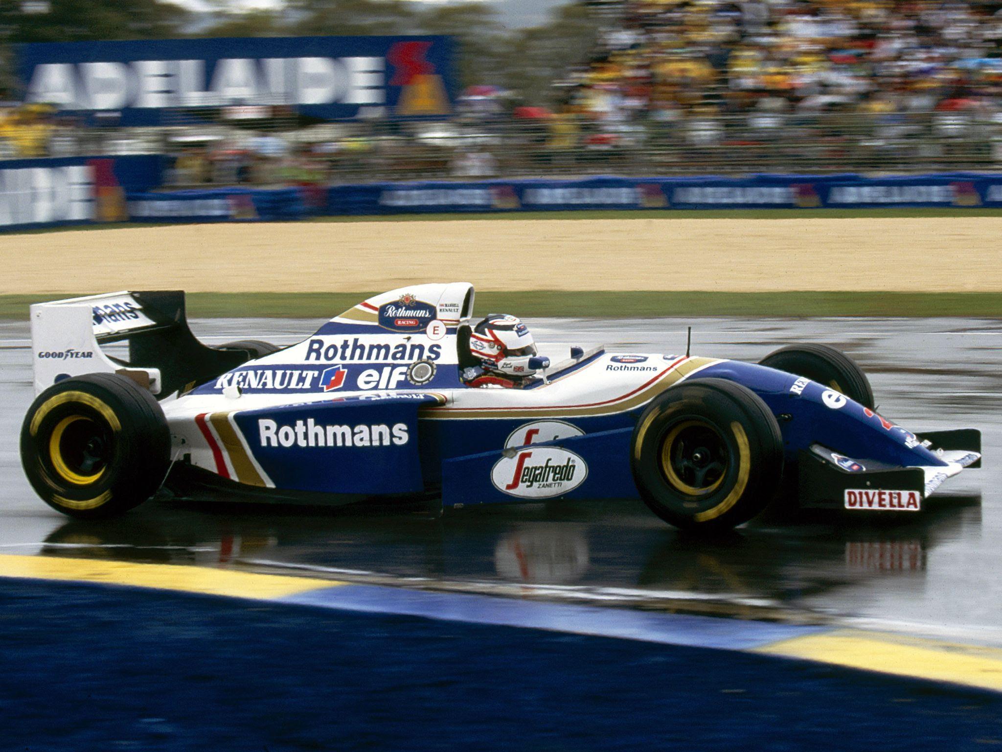 Resultado de imagem para nigel mansell 1994 Australian GP