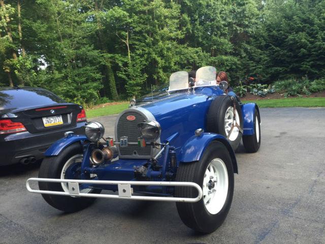 1927 Bugatti Type 35B Replica/Kit Car for sale: photos, technical specifications, description