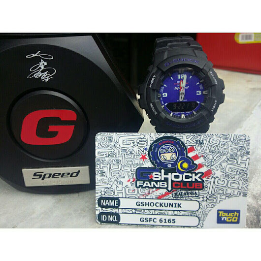 LIMITED EDITION CASIO G-SHOCK G-100 SPEED (USED)