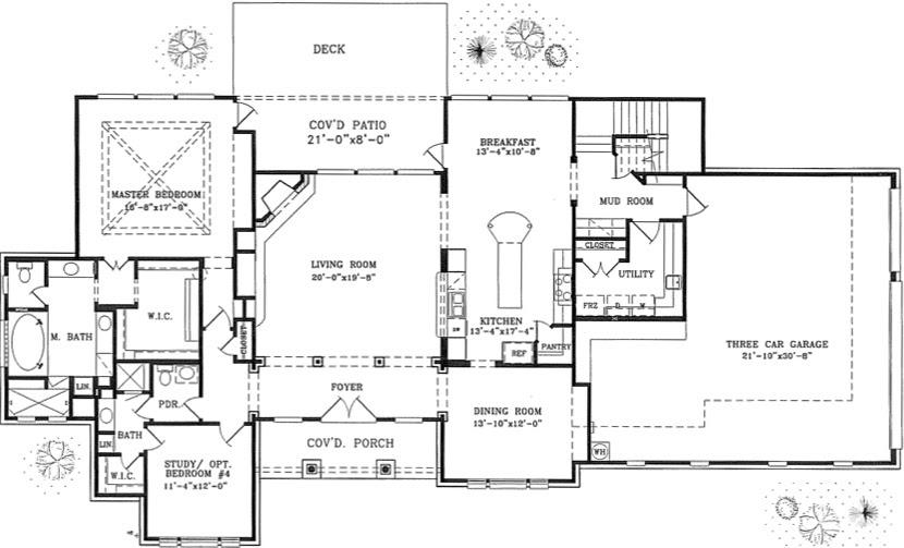 Name 2 Story Home Floor Plan Custom home building