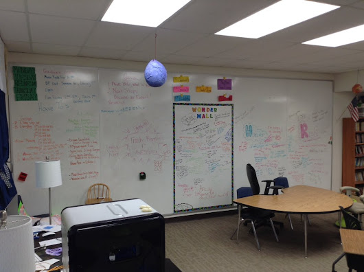 "Sam Pitlyk on Twitter: ""@edtechteam full white board wall and comfy closet reading nooks for our perimeter #InspiringSpace """
