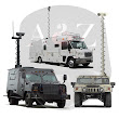 A2Z Tactical Vehicle Mast Mobile Surveillance Wireless