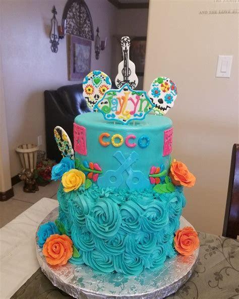 Coco theme cake dia de Los muertos Magdas creations 2017