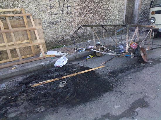 Corpo de mais um carroceiro é encontrado queimado no Brás