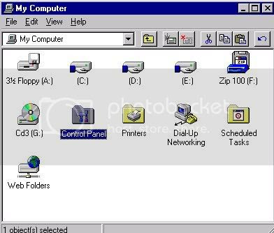 'my computer' icon screen