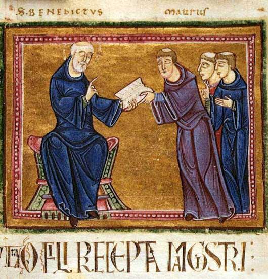 img ST. MAURUS, Disciple of St Benedict