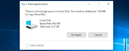 How Much Free Space Should You Leave on Your Windows PC?