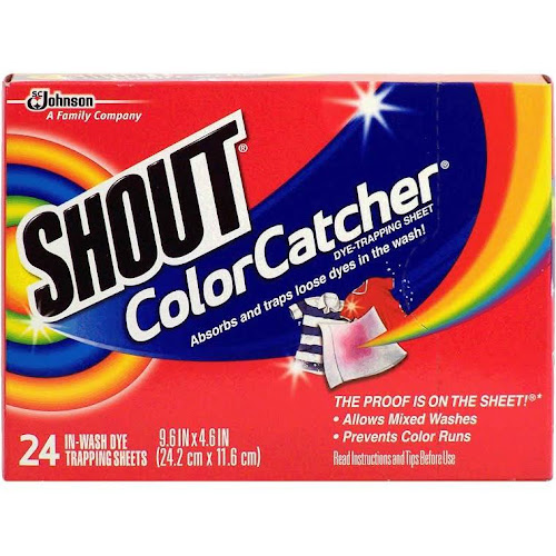 Google Express - Shout Color Catcher Washer Sheets - 24 count