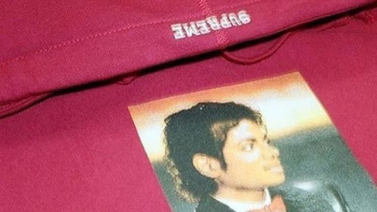 A Supreme Michael Jackson Collaboration | Michael Jackson World Network