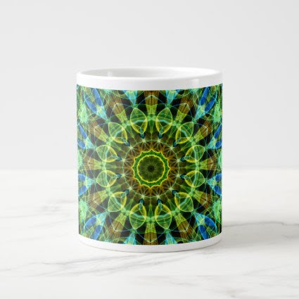 Watching You kaleidoscope Extra Large Mugs
