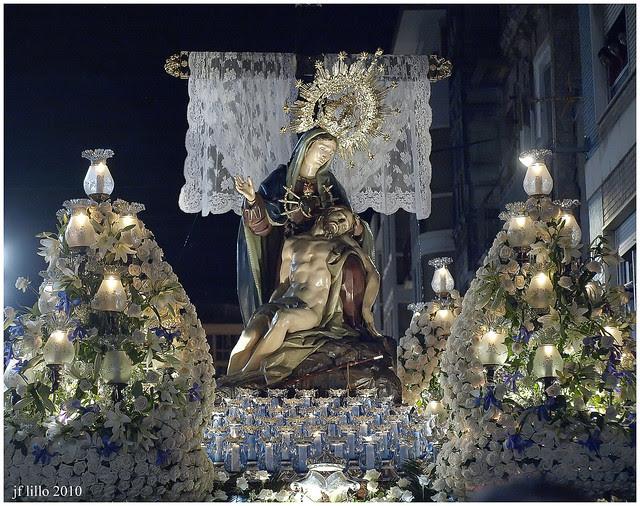 La Piedad procesión Lunes Santo Semana Santa Cartagena (España)